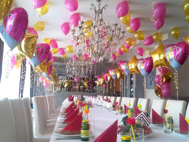 Украшения из шариков для стола на День Рождения ребенка